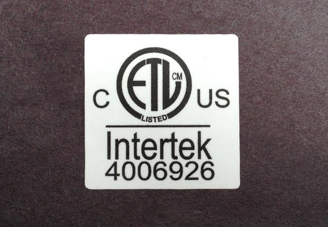 ETL Labels