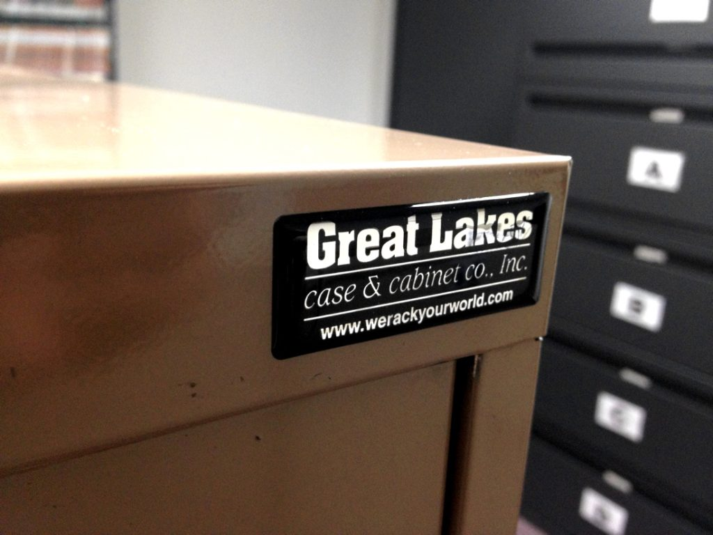 Nameplate Label Manufactured by Coast Label Company