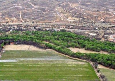Aerial View of Tubac and Tumacacori