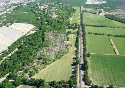 Aerial View of Tumacacori