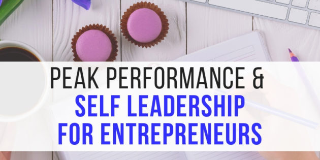 entrepreneur business performance and leadership