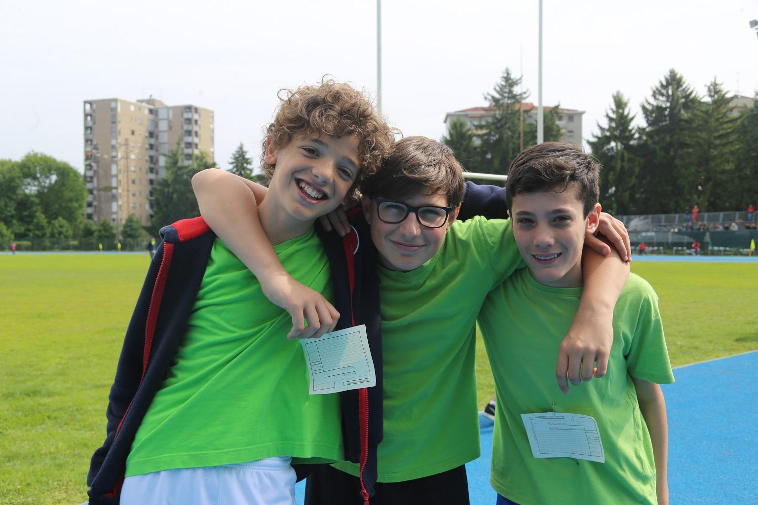 Le gare di atletica della Scuola Media