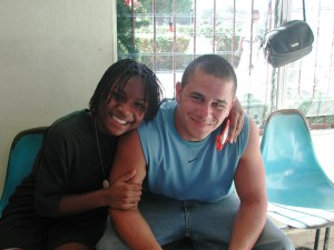 Alexus & Dustin In Airport In Port-au-Prince