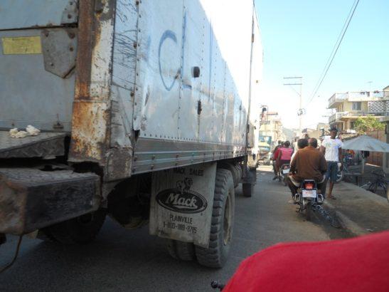 Haiti truck