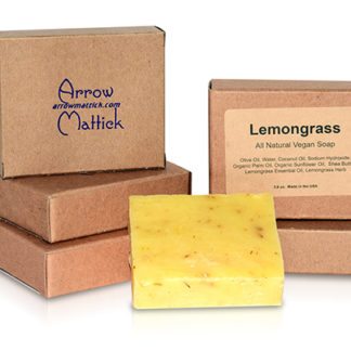 Arrow Mattick lemongrass natural soap
