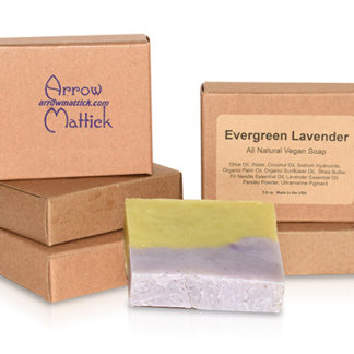 Arrow Mattick Evergreen Lavender Natural Soap