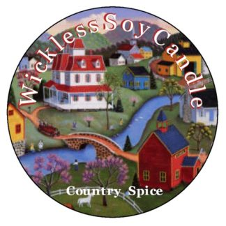 Country Spice Wickless Candle