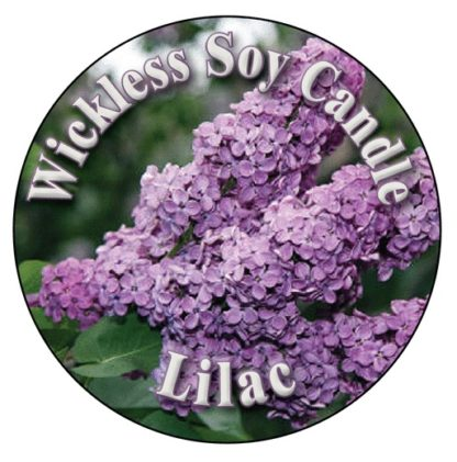 Lilac Wickless Candle