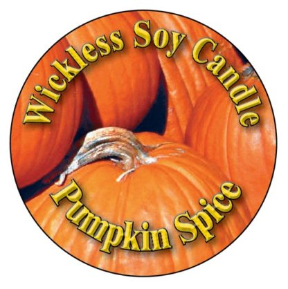 Pumpkin Spice Wickless Candle