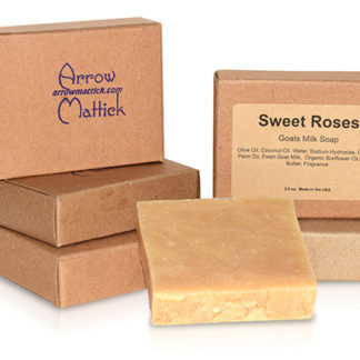 Arrow Mattick Sweet Roses Goats Milk Soap