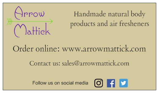 Arrow Mattick LLC Business Card