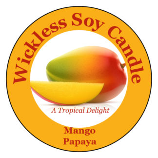 Mango Papaya Wickless Soy Candle