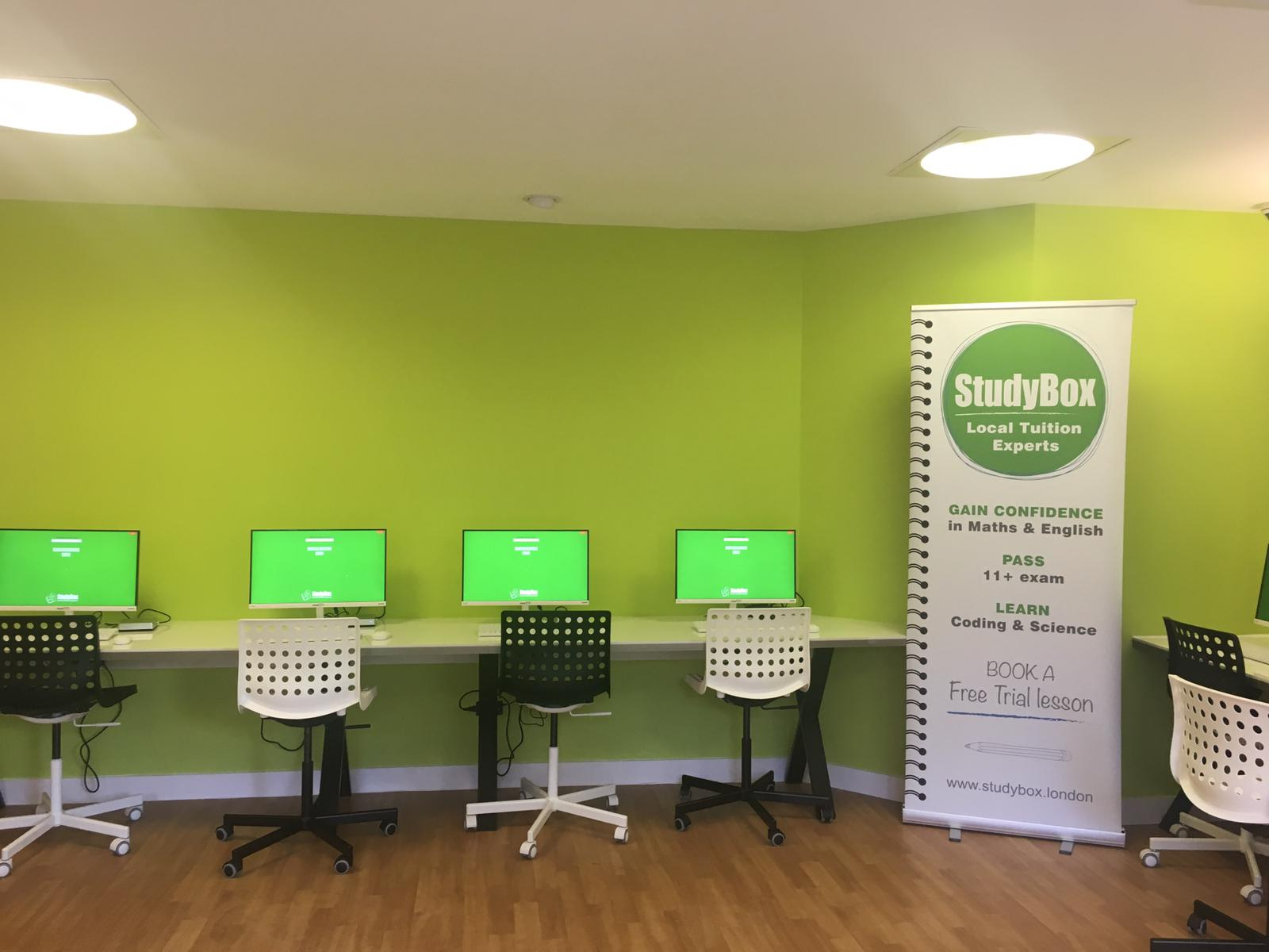 Image of the new StudyBox Centre in Battersea.
