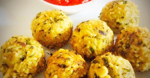 Ugu Noodle Balls with Honeyed Sauce