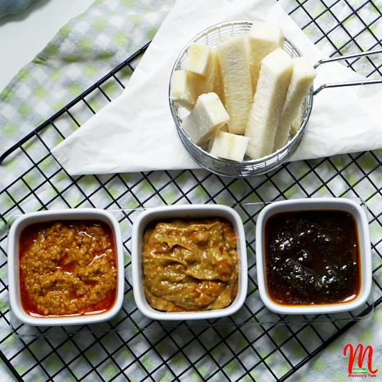 Dip recipes for finger foods