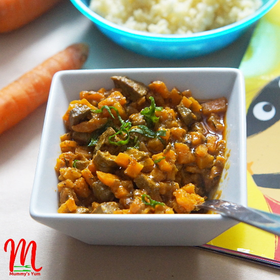Carrot and Liver 'Iron Booster' Sauce