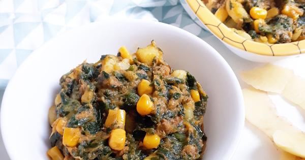 Potato, Corn and Vegetables