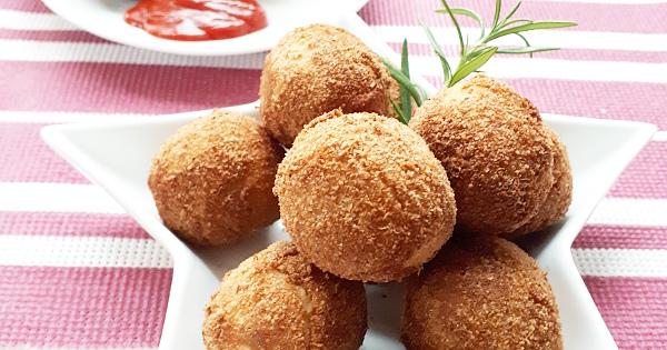 Protein-Rich Yam Balls
