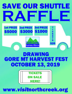 Save Our Shuttle Raffle