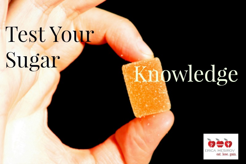 test your sugar iq