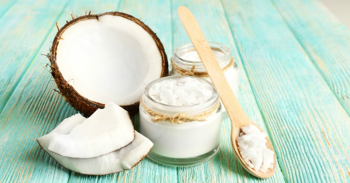 coconut oil for metabolism depression cleaning