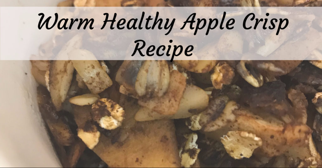 low-sugar, gluten-free apple crisp recipe