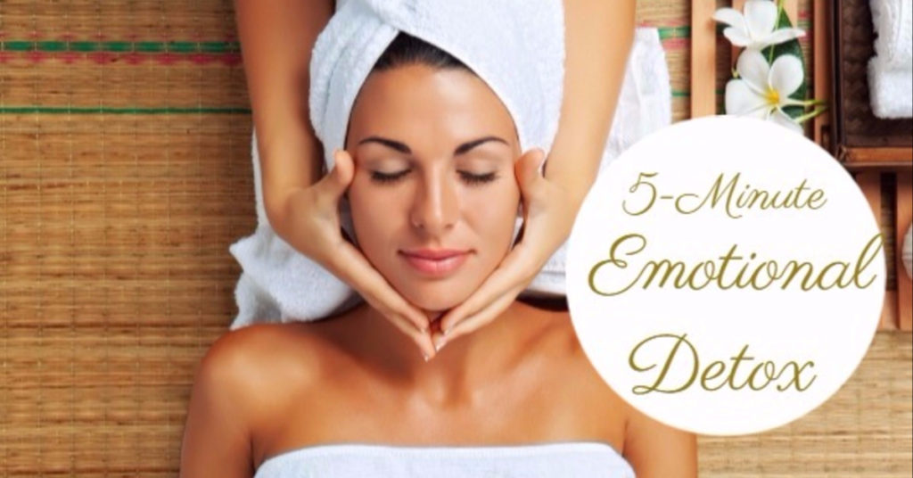 5-minute emotional detox to cleanse emotionally