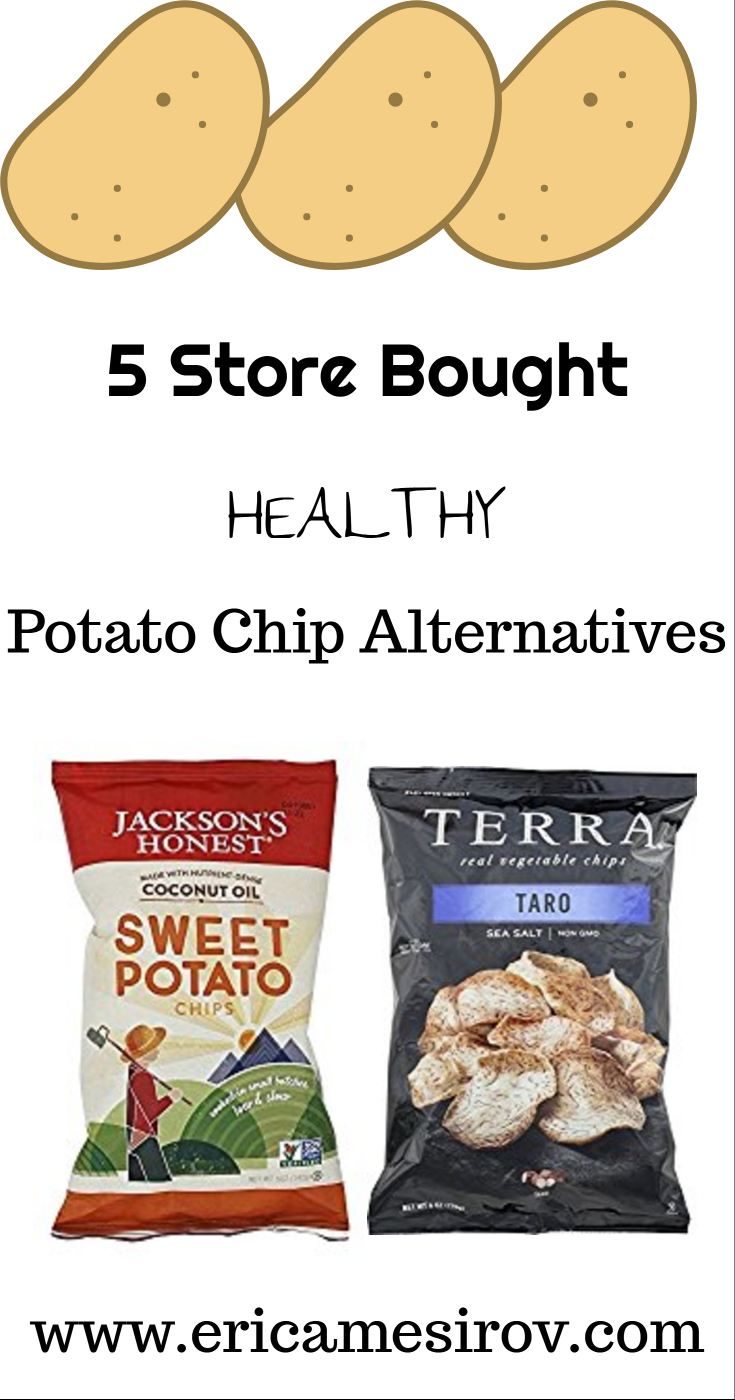 5 healthier options for potato chip cravings (potato chip cravings/ healthier chips/ diabetic friendly chips/ snacks to lower blood sugar/ diet comfort food/ diet potato chips/ baked potato chips/ paleo potato chips)
