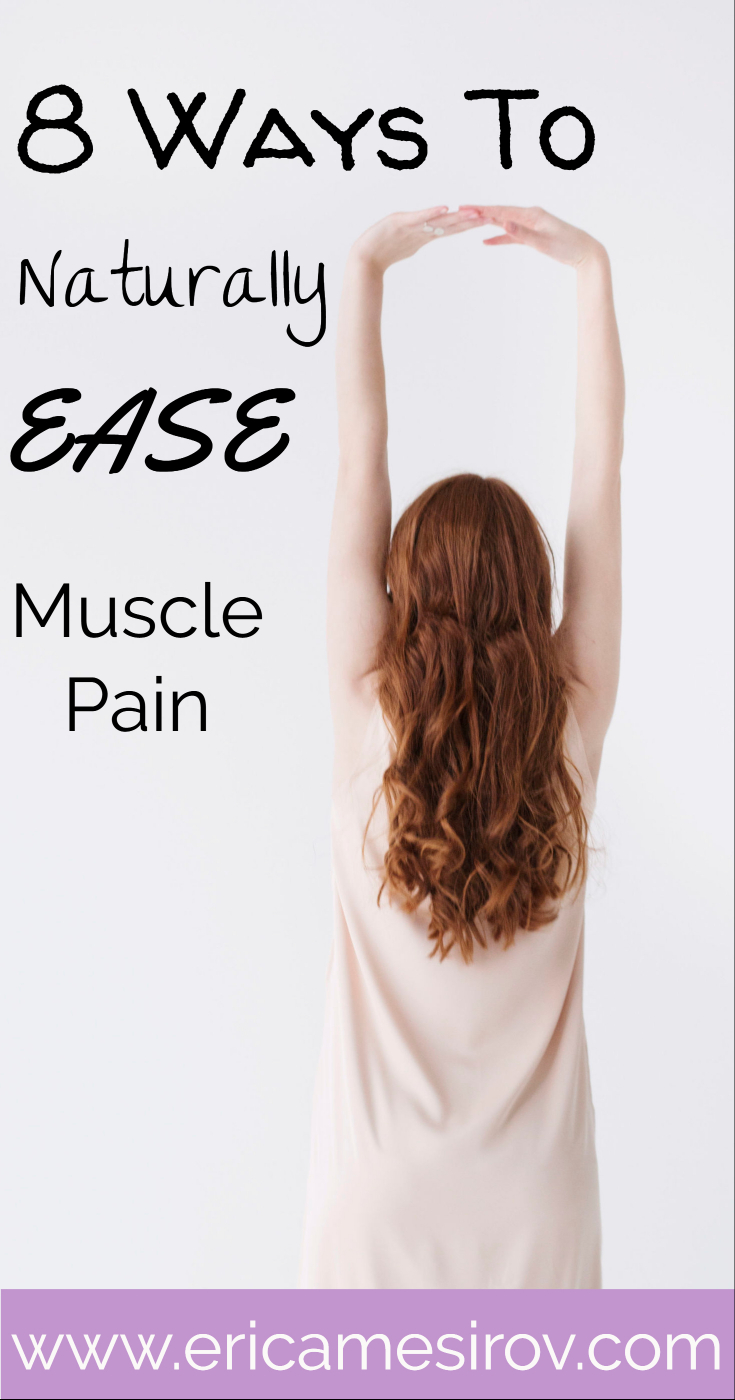 Naturally ease muscle pain (sore muscle relief/give self-massage/ epsom salt benefits/ back pain relief/ exercise recovery/ cut back on ibuprofen/ natural exercise recovery/ turmeric benefits/ magnesium benefits/ how to use foam roller/ good sources potassium/ avoid exercise burnout/ get back into working out)