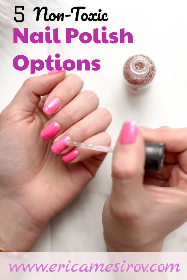Clean, non-toxic nail polish options (non-toxic makeup/ nail polish without formaldehyde/ EWG verified/ chemical-free nail polish/ cruelty-free nails/ nail polish without chemicals/ nail polish safe for kids/ safe makeup/ all natural nail polish/ clean beaut)