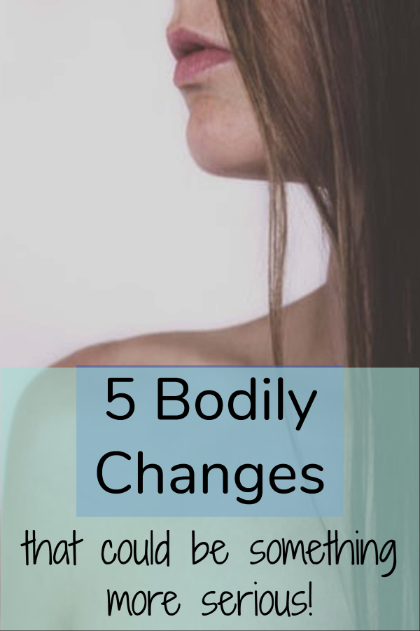 Bodily changes that could be something more serious (signs of skin cancer/ signs of breast cancer/ is it gum disease/ experiencing hearing loss/ rare melanoma symptoms/ body changes that could be cancer/ body changes that can be dangerous/ things on body to watch out for/ signals you might have cancer/ tore your gum brushing too hard/ uncommon signs of breast cancer)