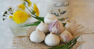 easy cleanse garlic