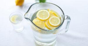 easy cleanse lemon water