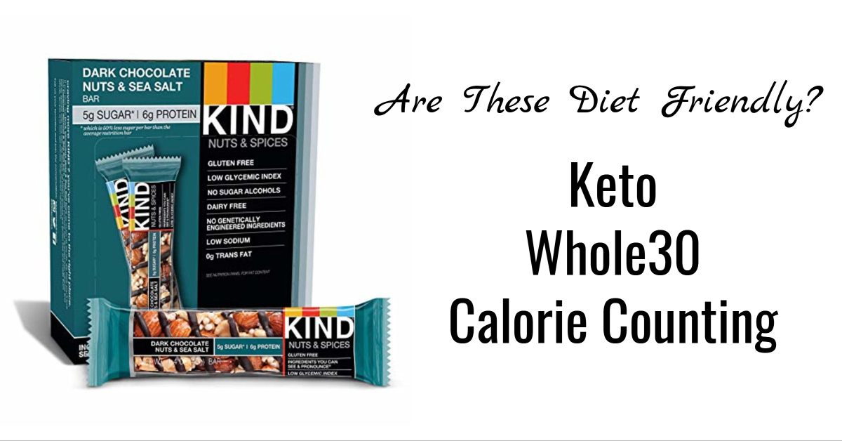Kind Bars Diet Friendly
