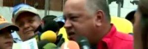 Diosdado Cabello mintiendo. Dice que en Venezuela no hay disturbios | iJustSaidIt.com
