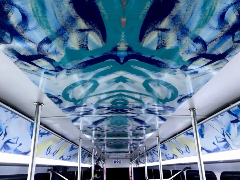 Beth Inglish Joy Bus Nashville Interior