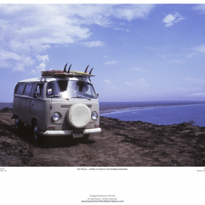 VW Bus Poster