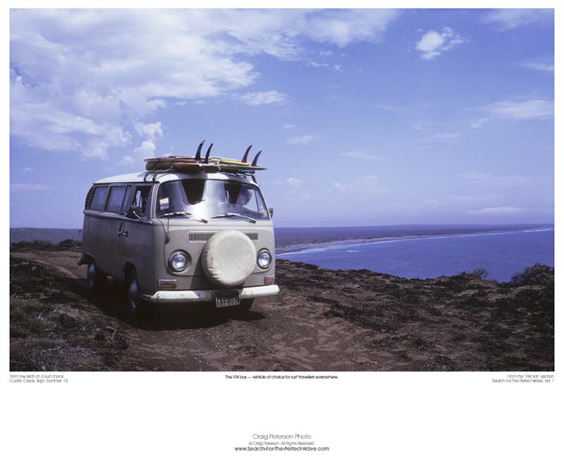 VW Bus Poster