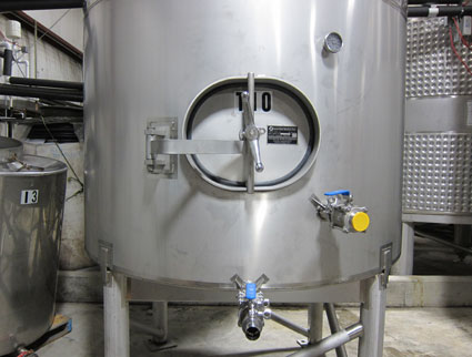 blending tank/type 316 stainless