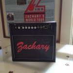 Rock and Roll Themed Bar Mitzvah - Amp Gift Box