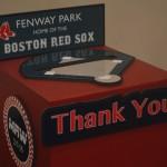 Red Sox Themed Bar Mitzvah - Gift Box