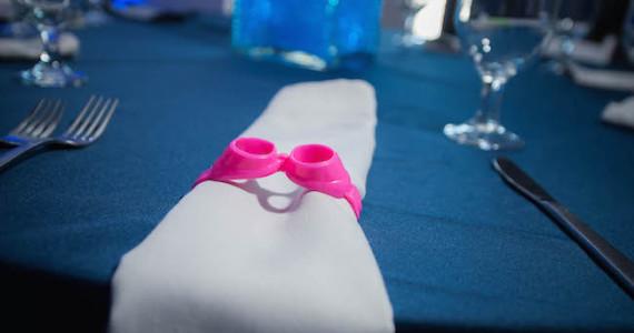 Google napkin ring