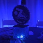 Swim Themed Party Centerpiece