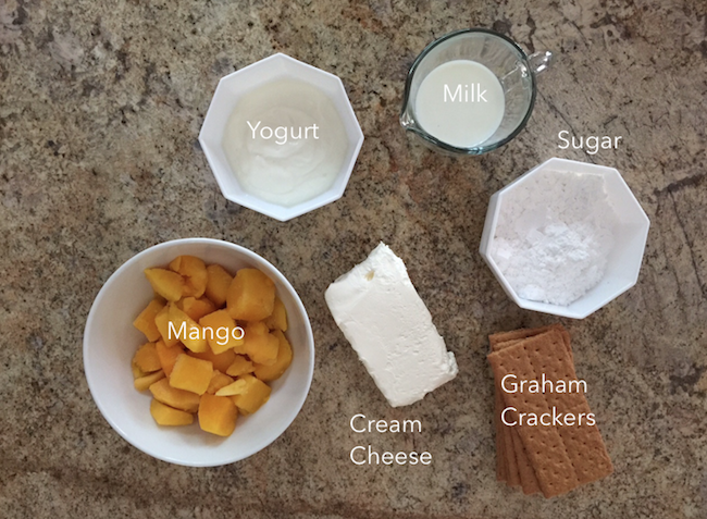 mango cheesecake popsicle ingredients