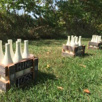 Lawn games for Rustic Wedding