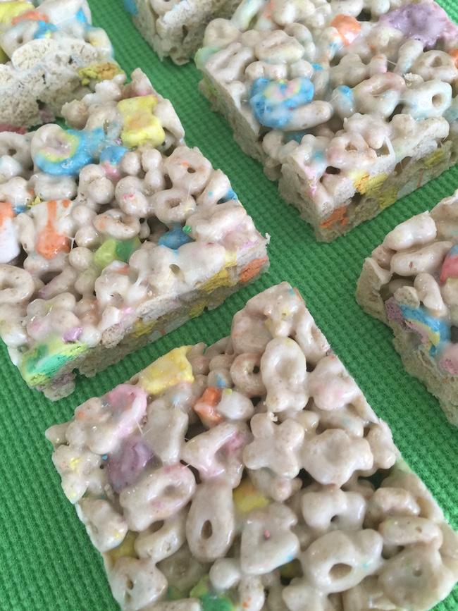 Lucky Charm Treats for St. Patrick's Day