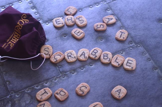 Scrabble Cookies