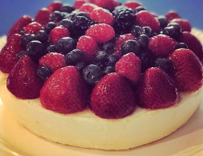 Mixed Berry Cheese Cake
