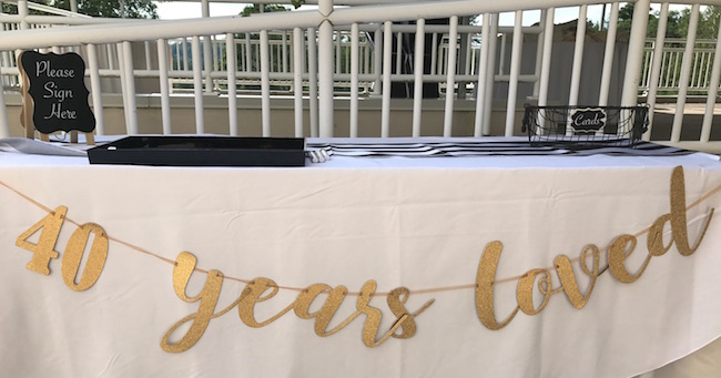 40 Years Loved - A Surprise Birthday Party