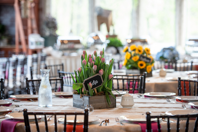 Garden Themed Bat Mitzvah Party